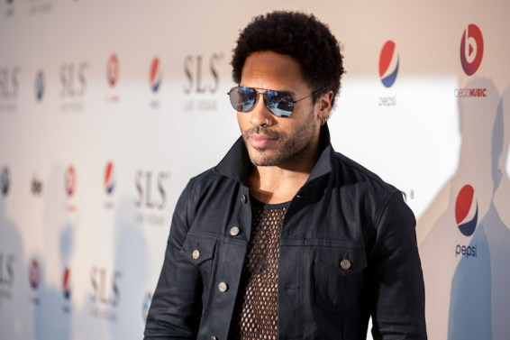 Lenny Kravitz at SLS Las Vegas Grand Opening