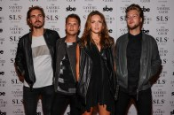 Tove Lo and band at The Sayers Club Grand Opening (Aug. 28, 2014 : Brenton Ho/Powers Imagery)