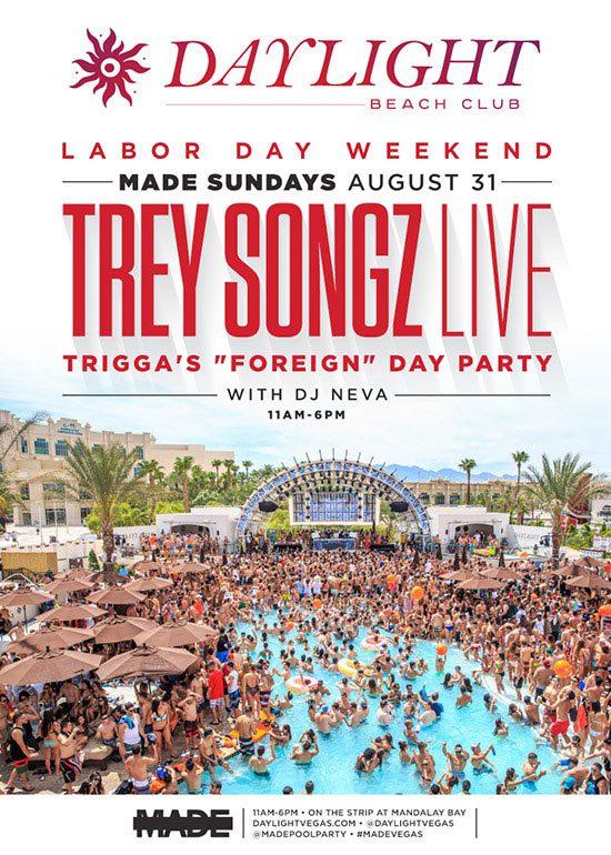 Trey Songz at Daylight Beach Club