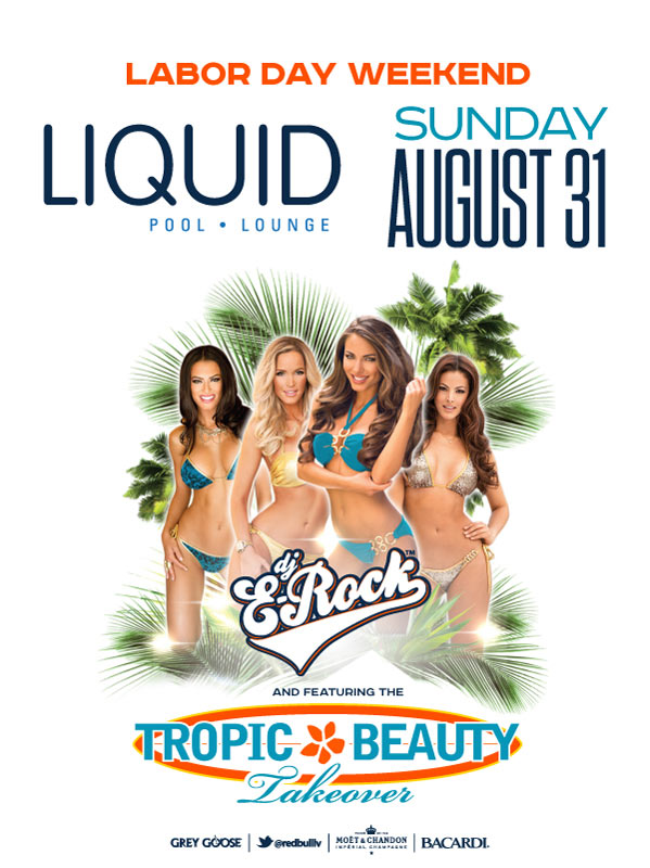 Tropic Beauty Takeover at Liquid Pool Lounge