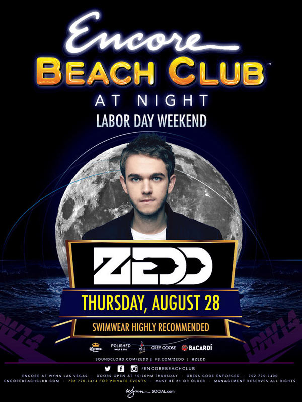 Zedd at Encore Beach Club