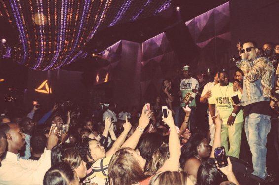 French Montana at Vanity inside Hard Rock Hotel - Photo credit Adam Amar