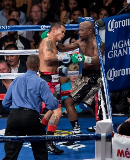 Floyd Mayweather Jr vs Marcos Maidana at MGM Grand