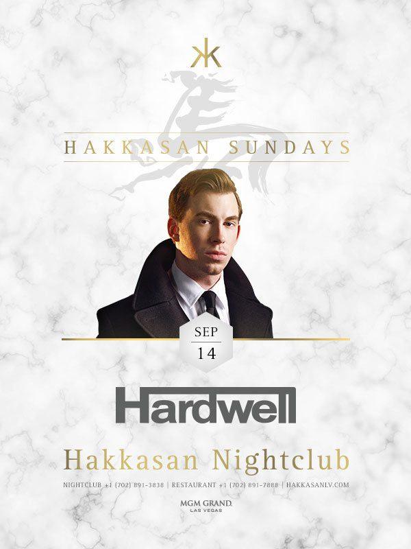 Hardwell at Hakkasan Las Vegas
