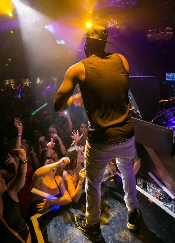 Jason Derulo at Body English Nightclub