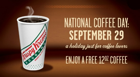 Krispy Kreme National Coffee Day