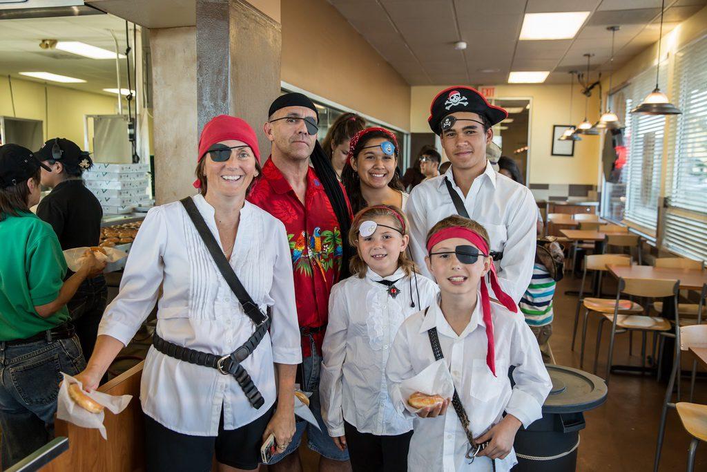 Krispy Kreme Talk Like a Pirate Day