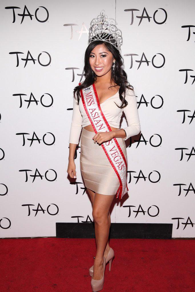 Miss Asian Las Vegas Catherine Ho at TAO