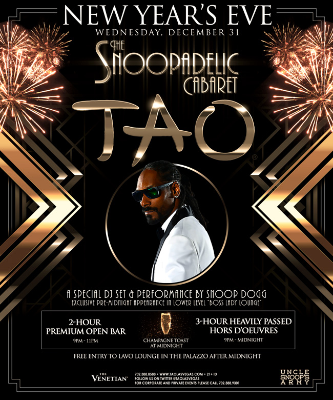 Snoop Dogg - New Year's Eve Edition of The Snoopadelic Cabaret