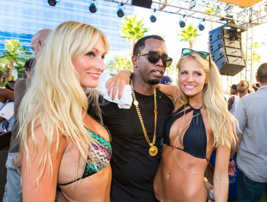 Puff Daddy at REHAB