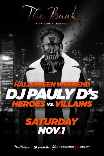 DJ Pauly D at The Bank Nightclub