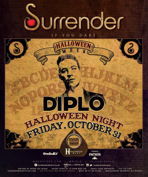 Diplo at Surrender Nightclub