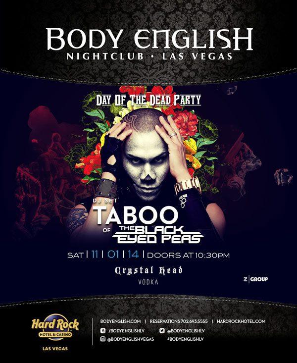 Taboo at Body English Nightclub