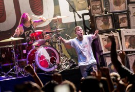 The Used at Brooklyn Bowl Las Vegas 32