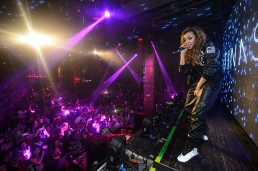Tinashe Performs at TAO