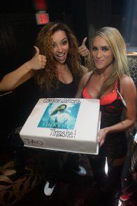 Tinashe With Aquarius Album Cake at TAO