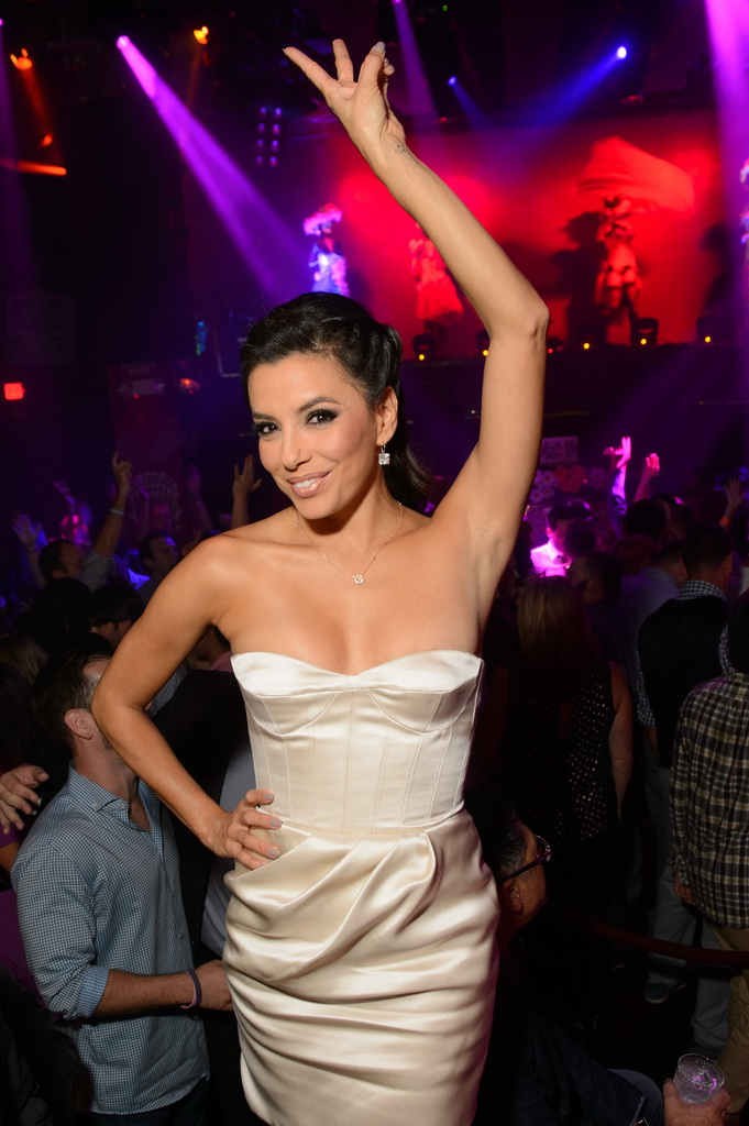 Eva Longoria Hosts Dia de los Muertos Celebration at TAO
