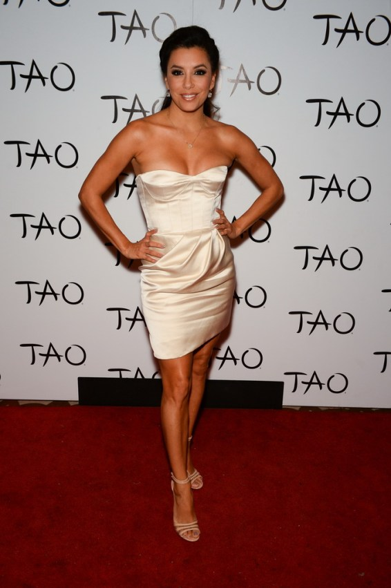 Eva Longoria at TAO Nightclub