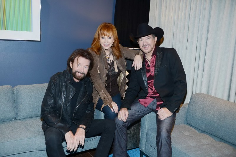 Ronnie Dunn, Reba and Kix Brooks announce their new residency, REBA, BROOKS & DUNN Together in Vegas, at The Colosseum at Caesars Palace on Wednesday, Dec. 3.