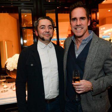 Matthias Merges and Shawn McClain at BARDOT Opening 1.15.15