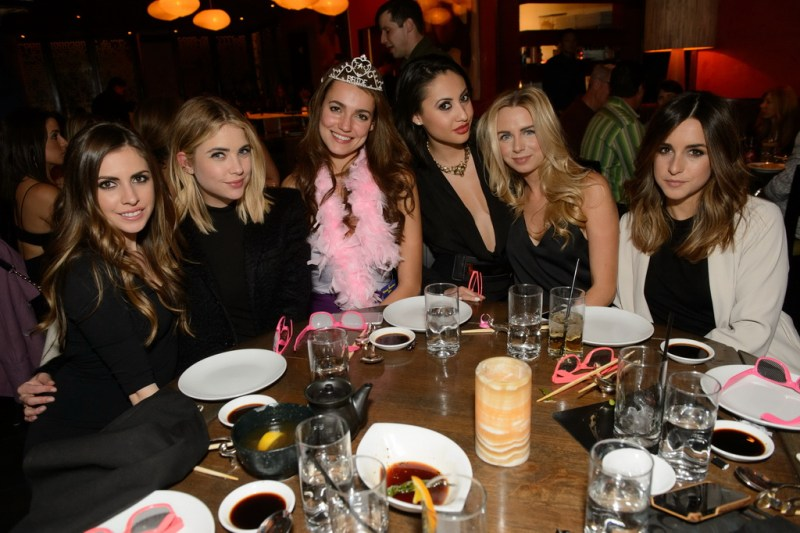 Francia Raisa, Ashley Benson celebrate the bachelorette party of a friend at TAO Las Vegas