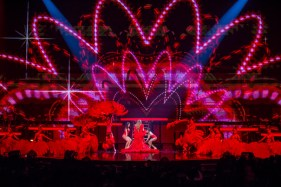 Jennifer Lopez performs at The Colosseum at Caesars Palace in Las Vegas, NV