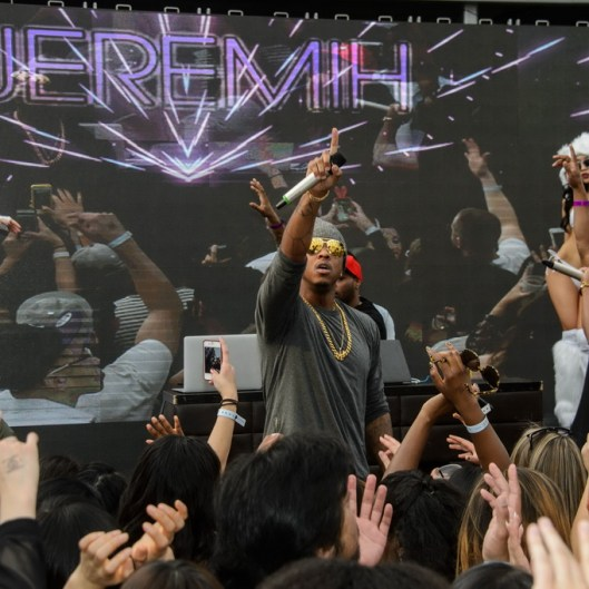 Jeremih performs at Marquee Dayclub Dome party