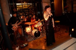 Live jazz music entertained guests at the BARDOT opening