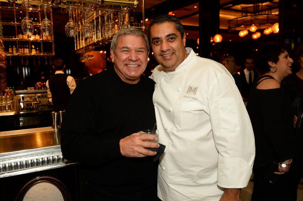 Steve Miller and Michael Mina at BARDOT Brasserie Opening 1.15.15