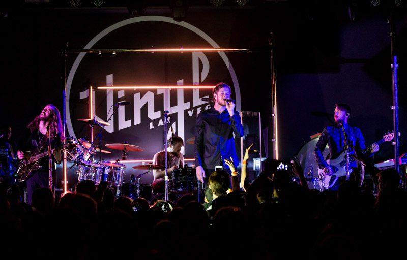 Imagine Dragons At Vinyl Las Vegas Inside Hard Rock Hotel
