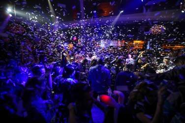 Marilyn Manson hosts Black Heart Ball at Hyde Bellagio on Valentine's Day