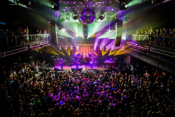 The String Cheese Incident at Brooklyn Bowl Las Vegas 05