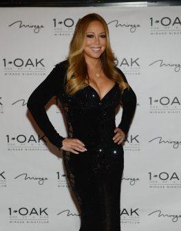 Mariah Carey Hosts Celebratory Evening at 1 OAK Nightclub