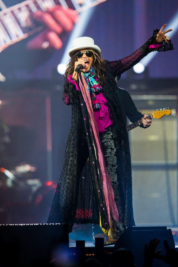 Aerosmith Performance Photos At Mgm Grand Garden Arena