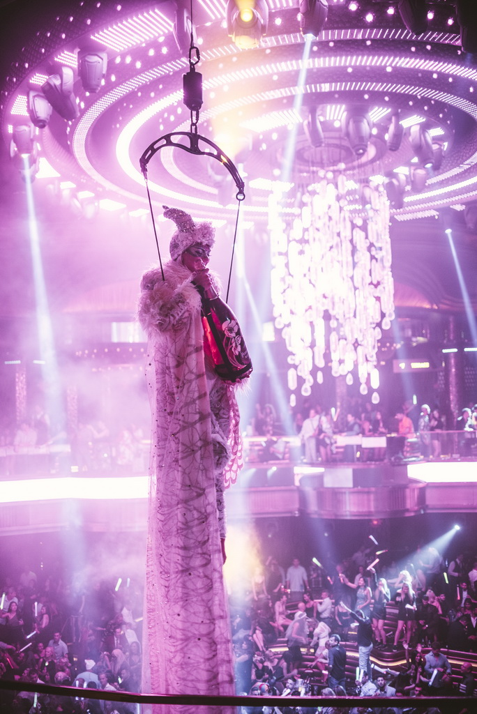 Calvin Harris at OMNIA Nightclub