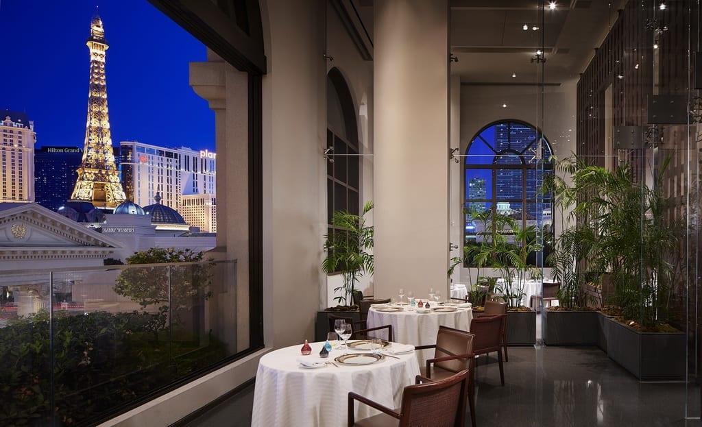 Restaurant Guy Savoy Terrace Room