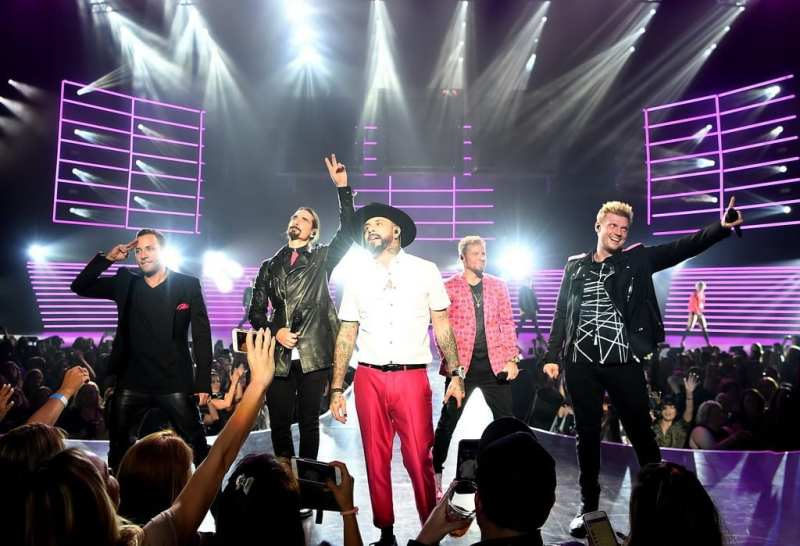 Backstreet Boys Larger Than Life at Planet Hollywood