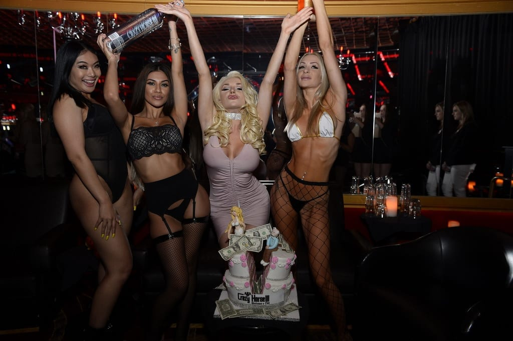 Courtney Stodden Celebrates Official Divorce Party at Crazy Horse III in Las Vegas