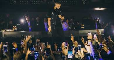 Drake at Hakkasan Nightclub