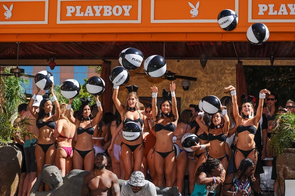 Playboy Fridays Photos at TAO Beach