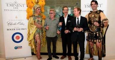 Roger Daltrey Champagne Launch at MR CHOW - Photo Credit Patrick Gray