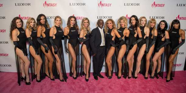 FANTASY Cast with Sean E. Cooper and Lorena Peril on Pink Carpet - Photo Credit Tom Donoghue