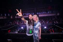 Steve Aoki and Tara Reid at JEWEL Nightclub
