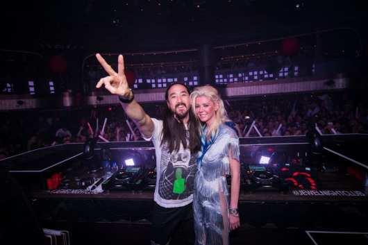 Steve Aoki and Tara Reid at JEWEL Nightclub