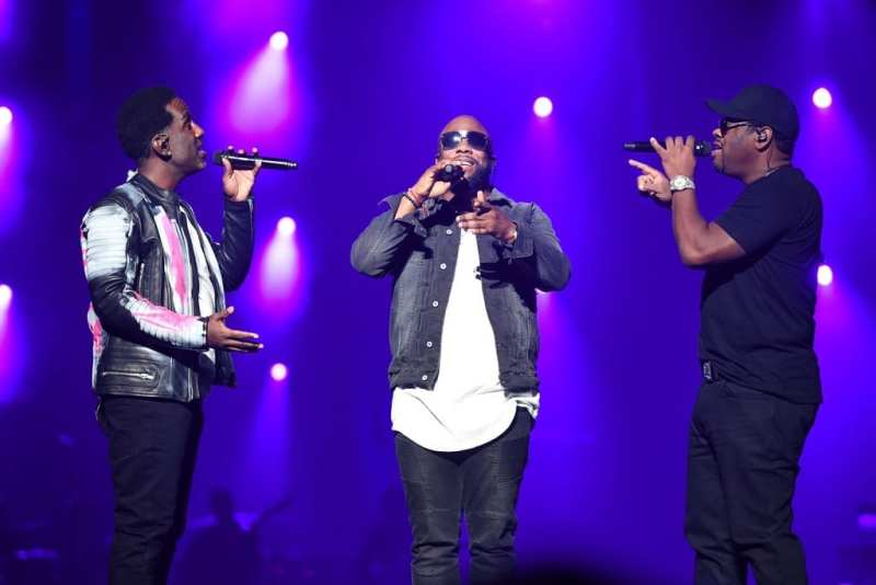 Boyz II Men Serenades at Vegas Strong Benefit Concert