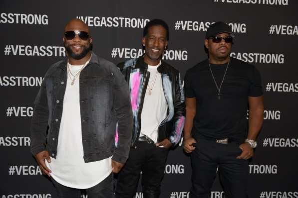 Boyz II Men at Vegas Strong Benefit Concert