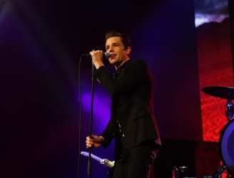Brandon Flowers of The Killers at Vegas Strong Benefit Concert