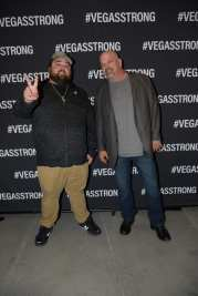 Chumlee & Rick Harrison at Vegas Strong Benefit Concert