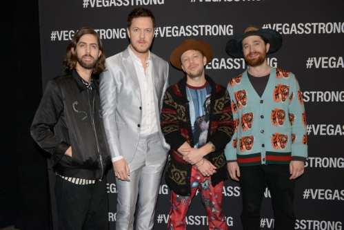 Imagine Dragons at the Vegas Strong Benefit Concert