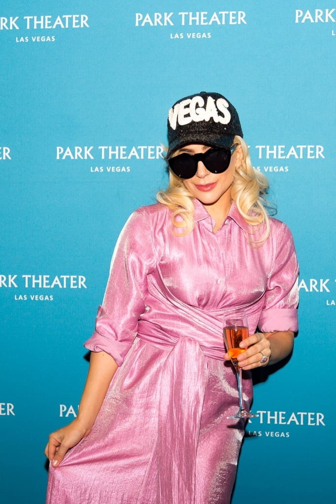 Lady Gaga announces her two-year engagement at Park MGM's Park Theater in Las Vegas